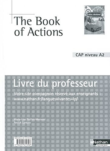 The Book of Actions - correction anglais cap patissier