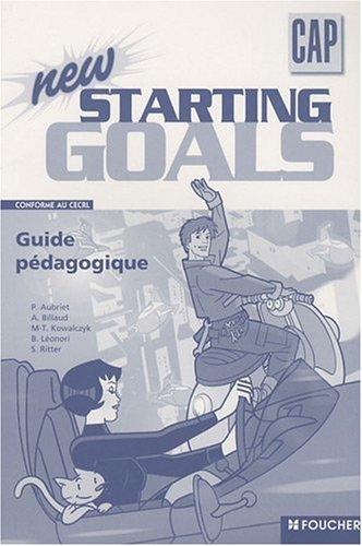 Starting Goals A2 - correction epreuve anglais cap patissier