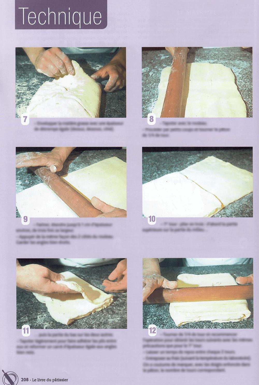 Technique de base le livre du pâtissier