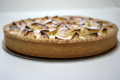 tarte normande ordonnancement cap patisserie